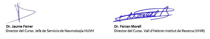 firma carta directores
